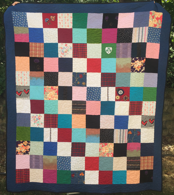 Shannon Memory Quilt Example