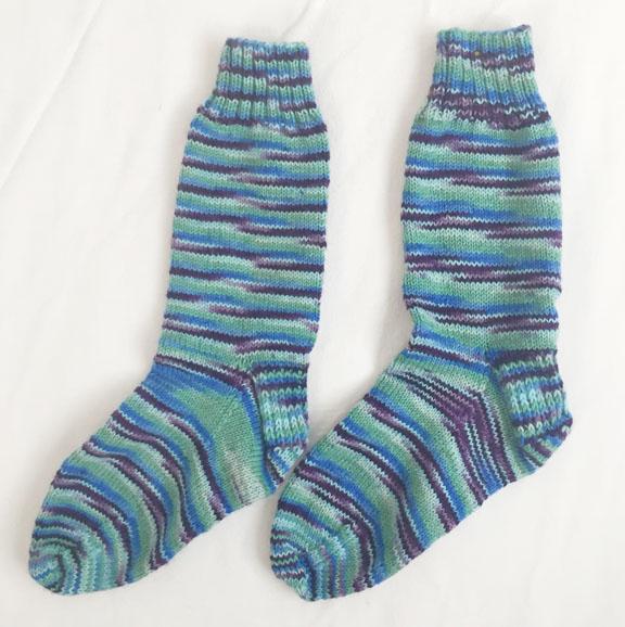 01_1st pair of knit socks