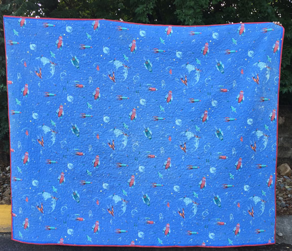 Space quilt