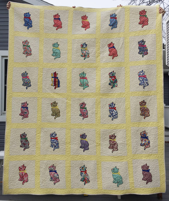 11_Kitty Quilt Front