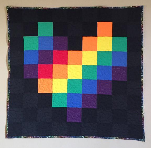 03_Pixel Heart black